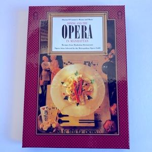 3/$15 Vintage Cookbook Dining & Opera in Manhattan